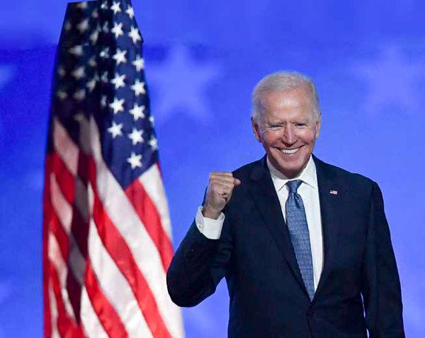 جو  بایدن رئیسجمهور آمریکا شد