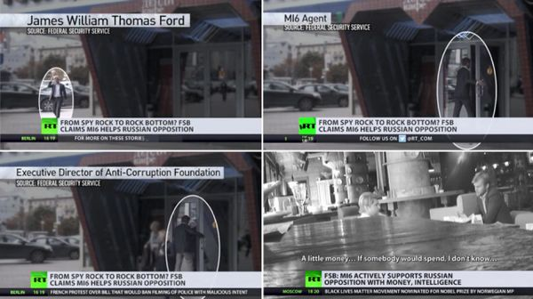 انتشار فیلم ملاقات متحد ناوالنی با جاسوس انگلیسی