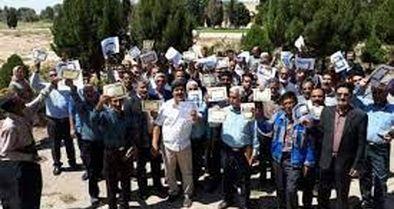 کارگران معدن آسمینون، مطالبات خود را قانونی پیگیری کنند