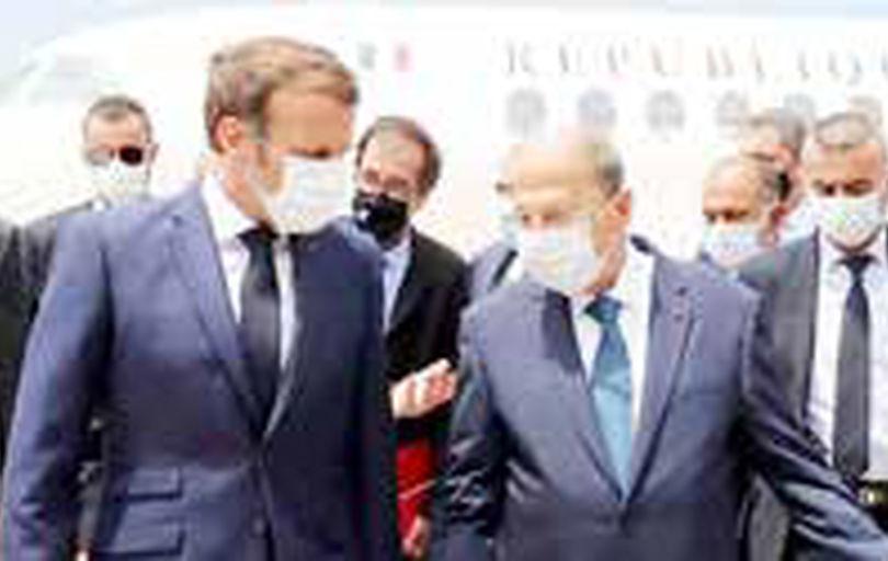 مکرون: دولت جدید لبنان باید با ماموریت مشخص تشکیل شود