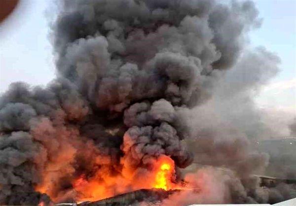 مهار آتشسوزی در منطقه حفاظت شده آق داغ در خلخال