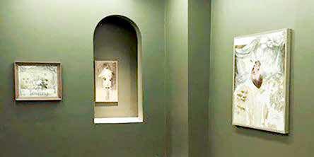 برپایی نمایشگاه «سر پرنده» در گالری اینجا