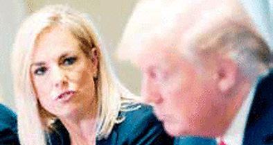 استعفای وزیر امنیت داخلی آمریکا