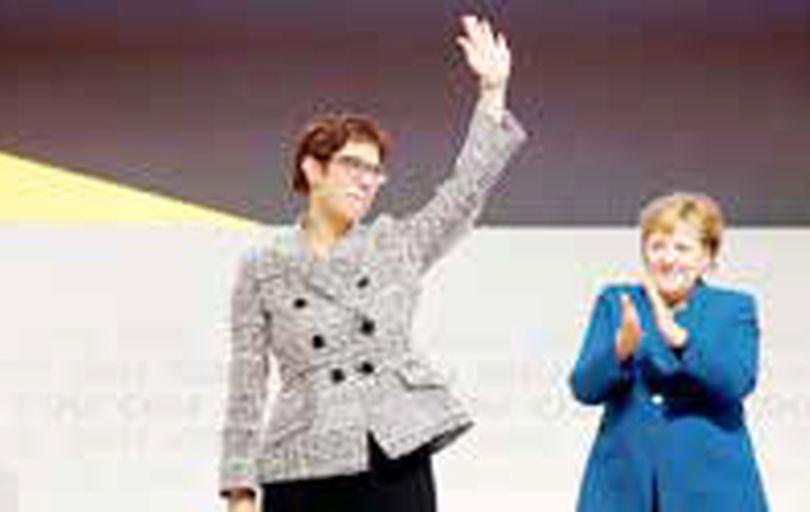 رئیس حزب حاکم آلمان نامزد جانشین خود را معرفی میکند