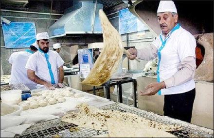 افزایش مزد خبازان در گرو گرانشدن نان