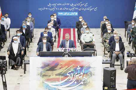 بهرهبرداری و آغاز عملیات اجرایی ٢١ طرح عمرانی در کیش
