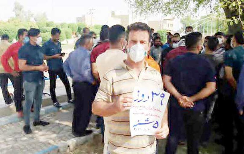تلاش کارفرما برای تحریک نیروهای کار به اعتراض
