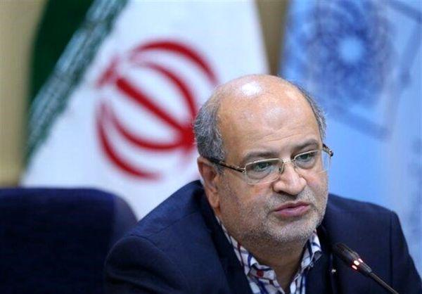 شرایط تهران کاملا قرمز است