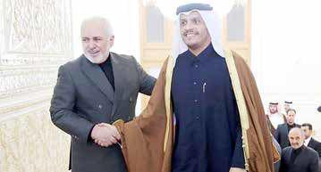 سفر وزیر قطری به ایران و احتمال میانجیگری